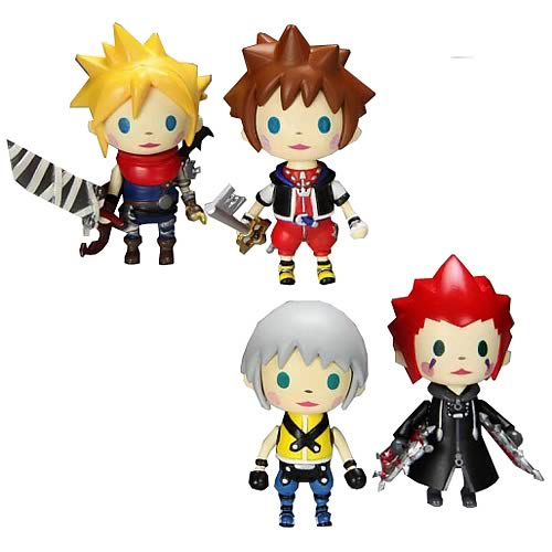 Kingdom Hearts Mini Avatar Trading Arts Figures