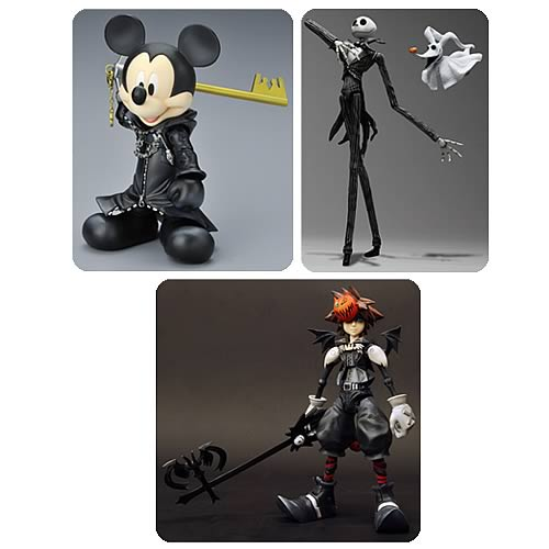 Kingdom Hearts Play Arts Action Figure Case