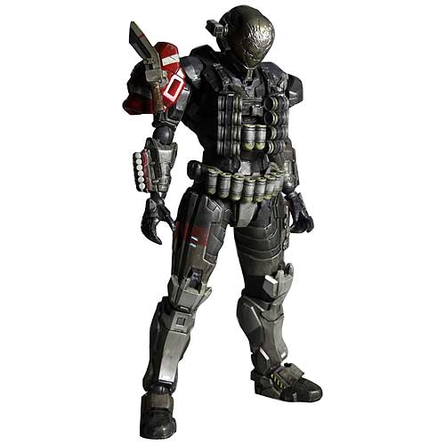 Halo Reach Emile Play Arts Kai Action Figure