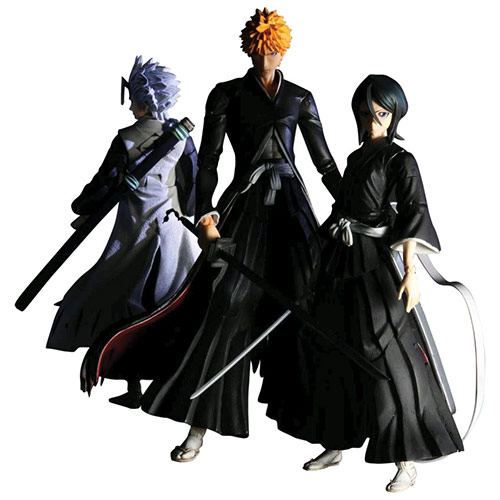 Bleach Play Arts Kai Action Figure Set