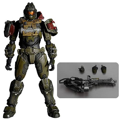 Halo Reach Jorge Play Arts Kai Action Figure