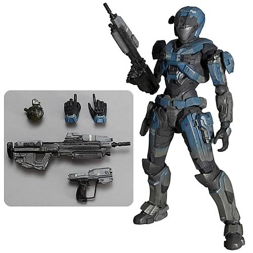 Halo Reach Kat Play Arts Kai Action Figure