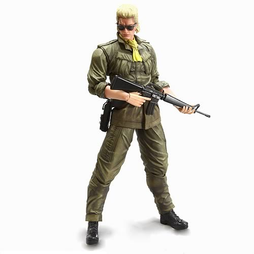 Metal Gear Solid Peace Walker Master Miller Action Figure