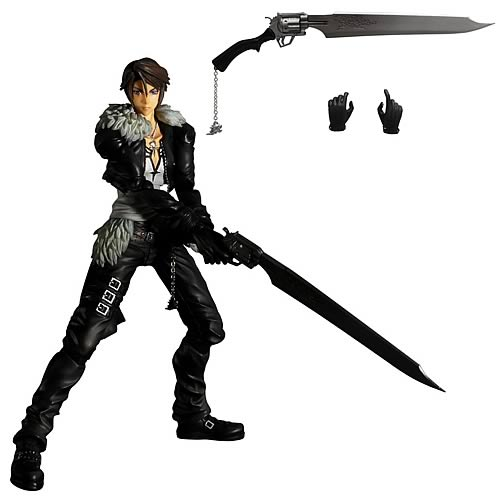 Final Fantasy Dissidia Squall Leonheart Play Arts Kai Figure