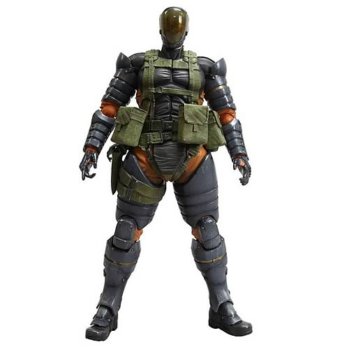 Metal Gear Solid Peace Walker Battle Dress Snake Figure