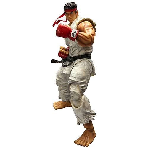 Super Street Fighter IV Ryu Play Arts Kai Action Figure