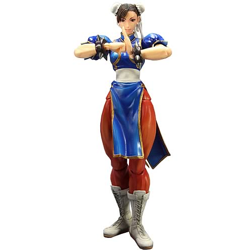 Super Street Fighter IV Chun Li Play Arts Kai Action Figure