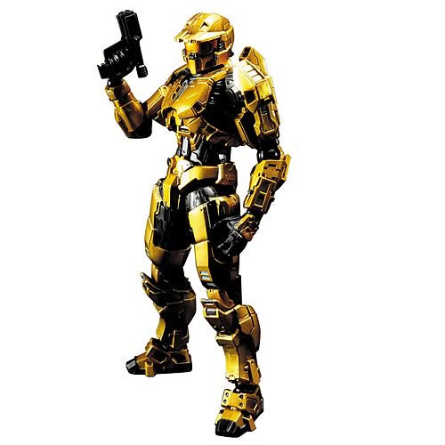 Halo Gold Spartan Play Arts Kai Action Figure