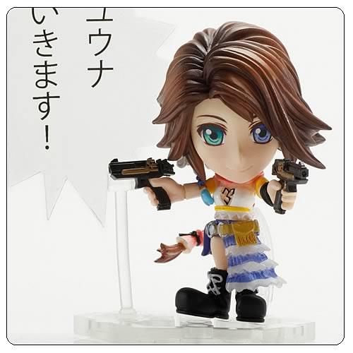 Final Fantasy X Yuna Trading Arts Kai Mini-Figure