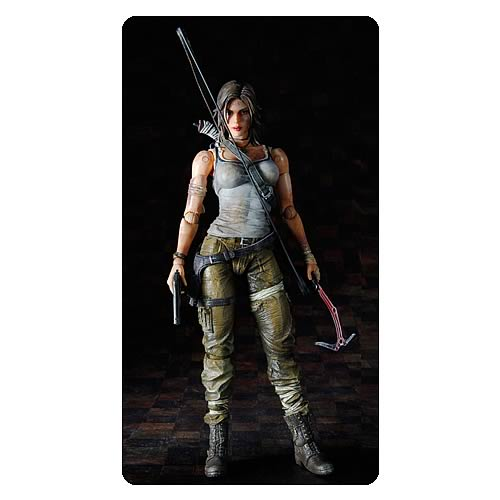 Tomb Raider Lara Croft Play Arts Kai Action Figure