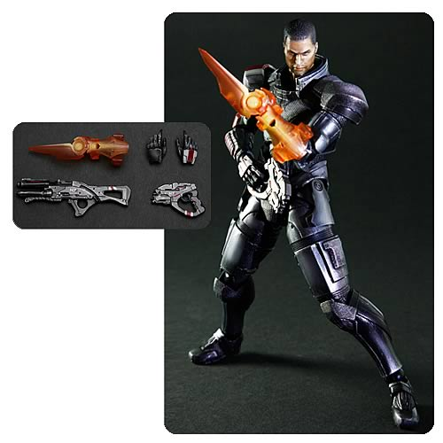 Mass Effect 3 Commander Shepard Play Arts Kai Action Figure