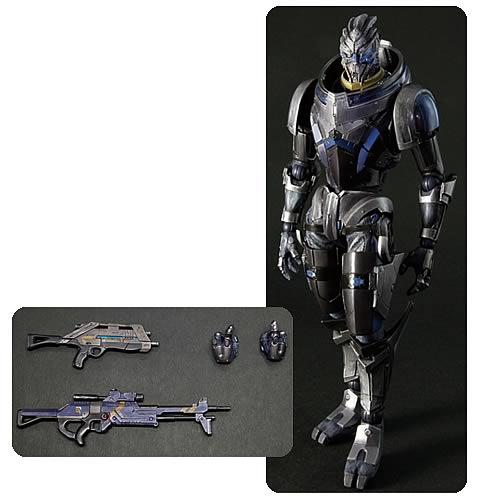Mass Effect 3 Garrus Vakarian Play Arts Kai Action Figure