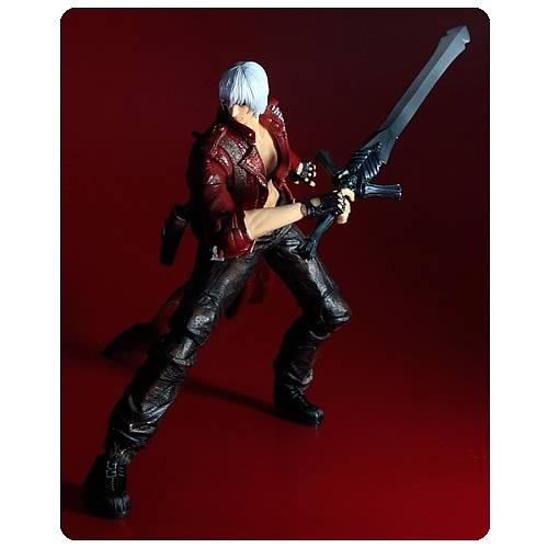 Devil May Cry 3 Dante Play Arts Kai Action Figure