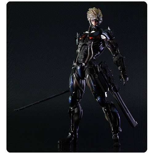 Metal Gear Rising Revengeance Raiden Play Arts Action Figure