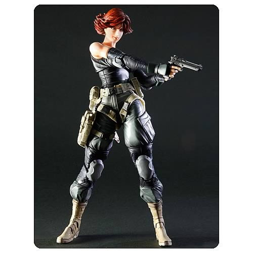 Metal Gear Solid Meryl Silverburgh Play Arts Kai Figure