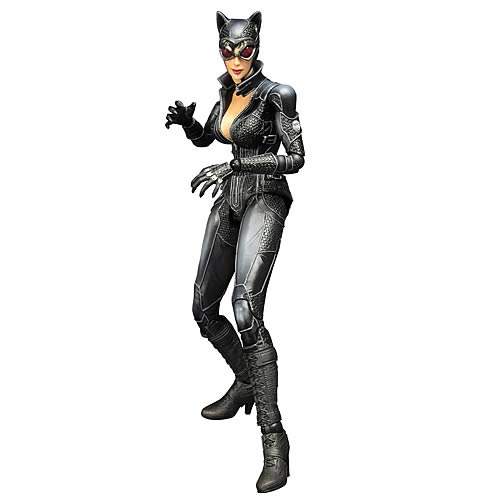 Batman Arkham City Catwoman Play Arts Kai Action Figure
