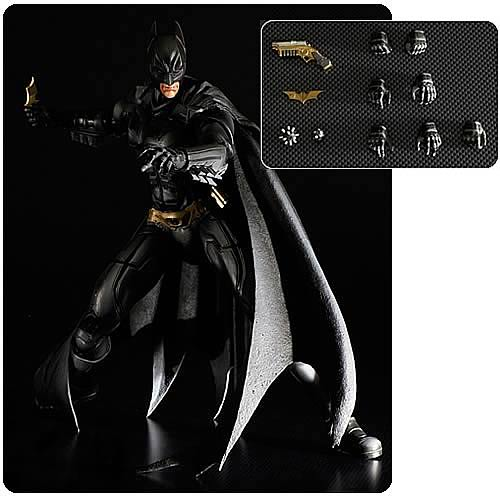 Batman Dark Knight Rises Batman Play Arts Kai Action Figure