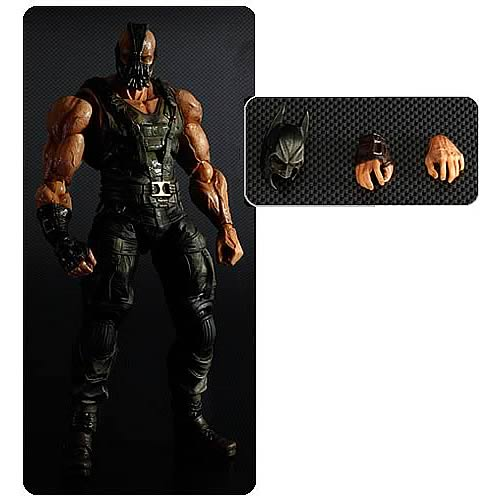 Batman Dark Knight Rises Bane Play Arts Kai Action Figure