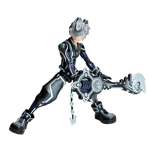 Kingdom Hearts Tron Legacy Riku Play Arts Kai Action Figure