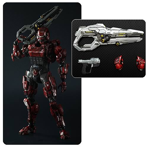 Halo 4 Spartan Soldier Play Arts Kai Action Figure