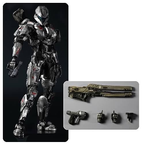Halo 4 Spartan Sarah Palmer Play Arts Kai Action Figure