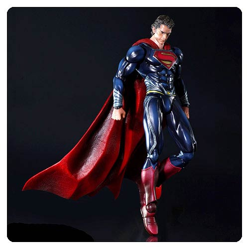 Superman Man of Steel Play Arts Kai Action Figure