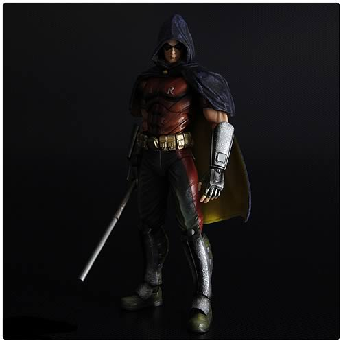 Batman Arkham City Series 2 Robin Play Arts Kai Figure