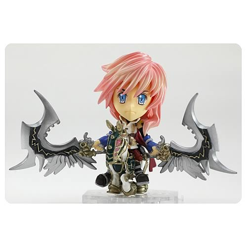 Final Fantasy XIII Lightning Trading Arts Kai Mini-Figure