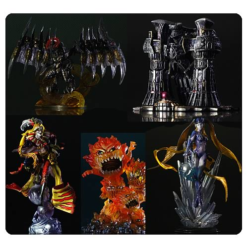 Final Fantasy Creatures Volume 5 Kai Mini-Figure 5-Pack