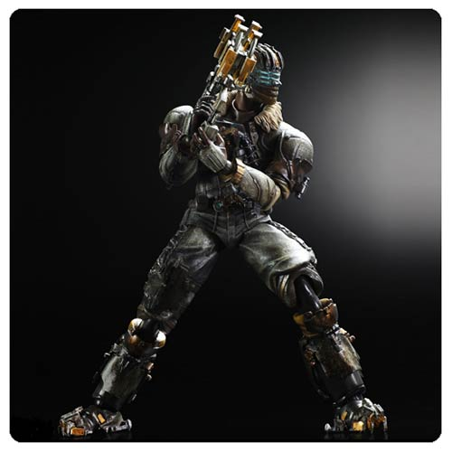Dead Space 3 Isaac Clarke Play Arts Kai Action Figure