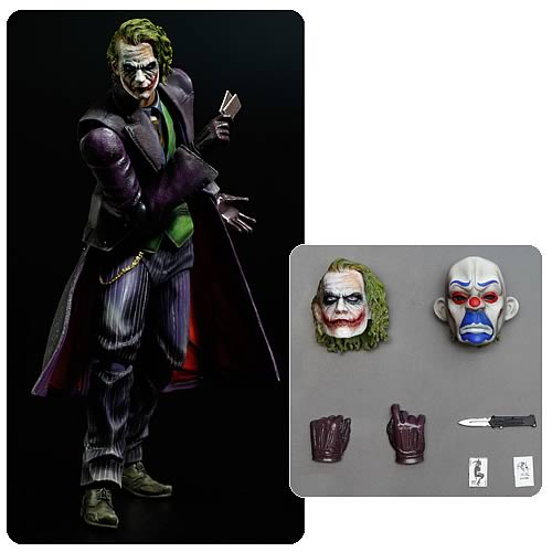 The Dark Knight The Joker Play Arts Kai Action Figure