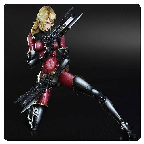 Space Pirate Captain Harlock Kei Yuki Play Arts Kai Figure