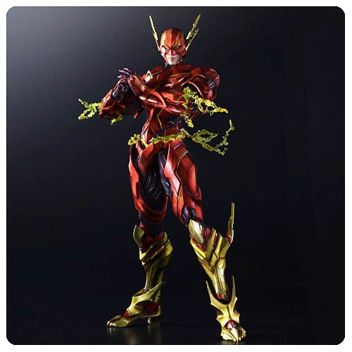 The Flash DC Comics Play Arts Kai Variant Action Figure