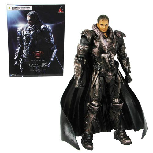 Superman Man of Steel General Zod Play Arts Kai Figure