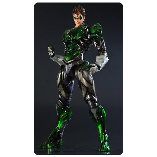 Green Lantern DC Comics Play Arts Kai Variant Action Figure