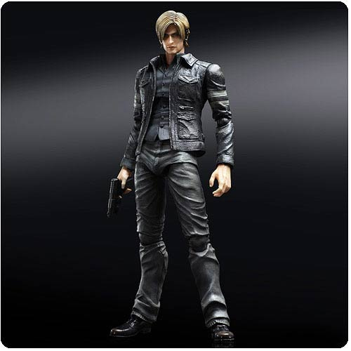 Resident Evil 6 Leon S. Kennedy Play Arts Kai Action Figure