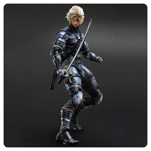 Metal Gear Solid 2 Raiden Play Arts Kai Action Figure