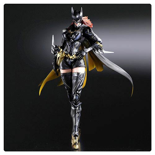 Batman Batgirl DC Comics Play Arts Kai Variant Action Figure