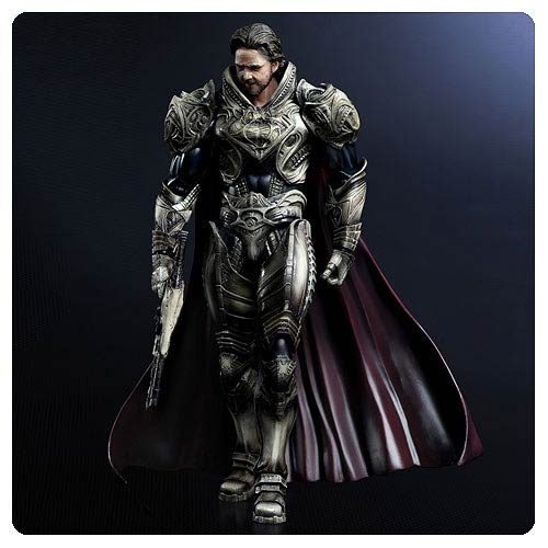 Superman Man of Steel Jor-El Play Arts Kai Action Figure