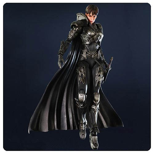 Superman Man of Steel Faora Play Arts Kai Action Figure