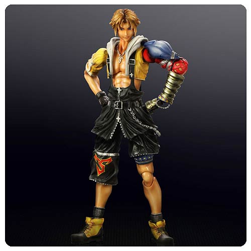 Final Fantasy X Tidus Play Arts Kai Action Figure