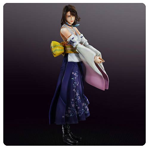 Final Fantasy X Yuna Play Arts Kai Action Figure