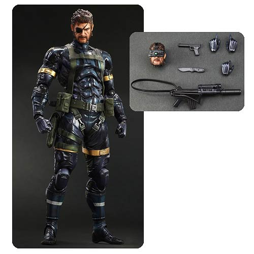 Metal Gear Solid V Snake Play Arts Kai 11-Inch Action Figure