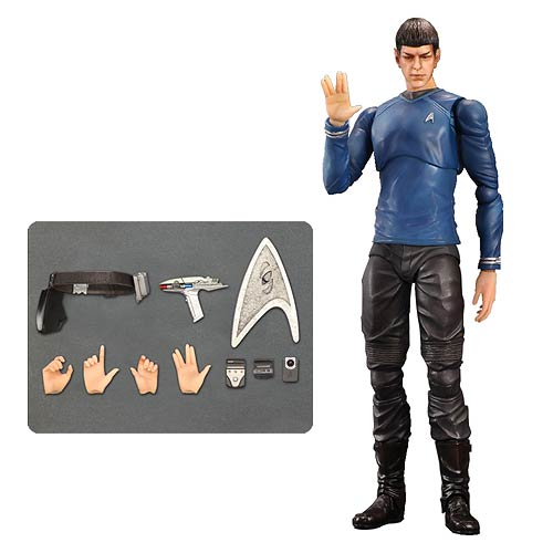 Star Trek Movies Mr. Spock Play Arts Kai Action Figure