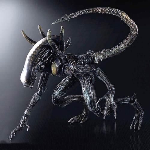 Aliens Colonial Marines Lurker Play Arts Kai Action Figure