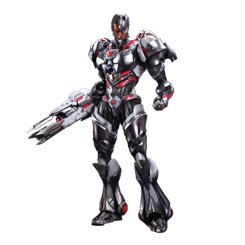 Cyborg DC Comics Play Arts Kai Variant Action Figure