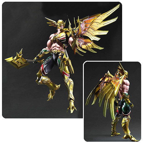 DC Comics Hawkman Play Arts Kai Variant Action Figure