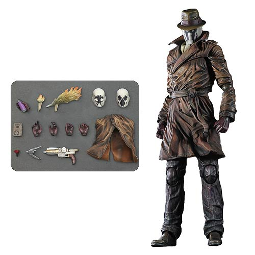 Watchmen Rorschach Play Arts Kai Action Figure