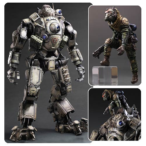 Titanfall Atlas Play Arts Kai Action Figure