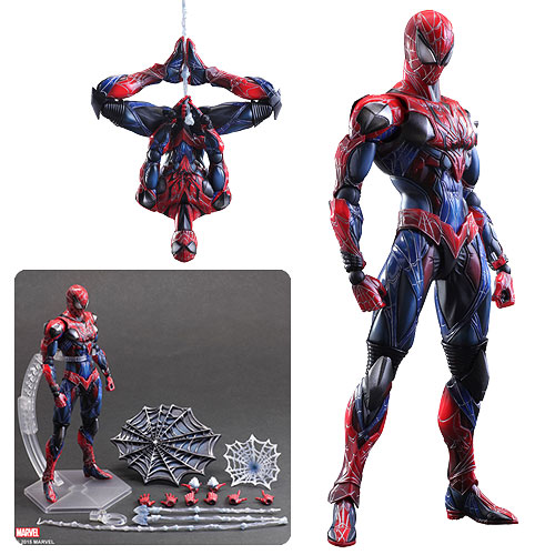 Marvel Universe SpiderMan Play Arts Kai Action Figure SquareEnix - Free contractor invoice square enix online store